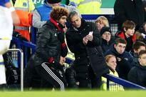 Jose Mourinho explains why he brought Marouane Fellaini on in a move that spectacularly backfired for Man United at Everton