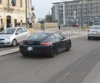 Porsche 718 Cayman prototype spotted driving around Italy