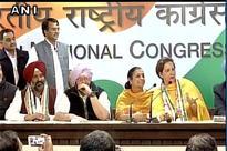Navjot Singh Sidhu's wife Navjot Kaur joins Congress along with ex-Akali MLA Pargat Singh