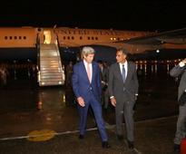 US Secretary of State John Kerry gets a taste of Delhi jams, stuck on road for 1hr