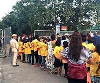 Cement major brings underprivileged children to watch FIFA match