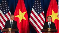 Obama raises human rights in Vietnam, calls for 'peaceful resolution' of South China Sea disputes