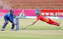 Zimbabwe vs. Lanka ODI washed out