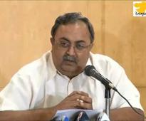 Congress charge against GSPC completely wrong: Saurabh Patel in Delhi