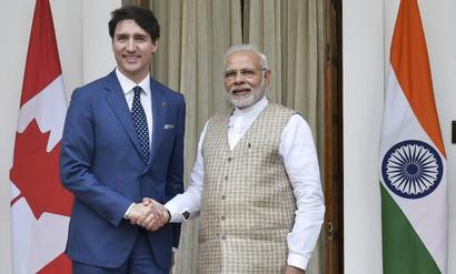 Won't tolerate challenge to India's sovereignty: Modi after meeting Trudeau