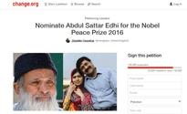 Malala's father urges world leaders to nominate Edhi for Nobel Peace Prize 2016