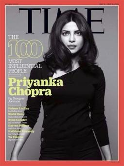 Priyanka in Time magazine's list of 100 Most Influential People