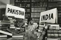 India and Pakistan were partitioned, but not their books?