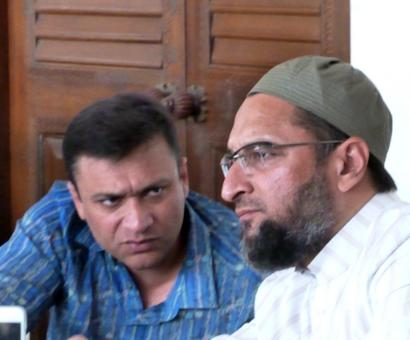 MIM chief Asaduddin, MLA-brother booked in assault cases