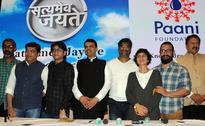 Aamir Khan launches Satyameva Jayate water cup with CM Devendra Fadnavis, Kiran Rao