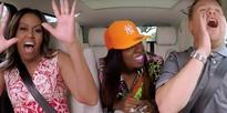 Carpool Karaoke: Michelle Obama gets her freak on with Missy Elliott