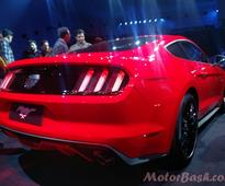 Update: Ford Launches Mustang in India for Rs 65 lakhs
