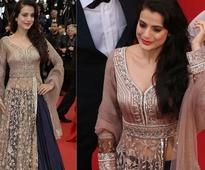 Ameesha Patel is the newest desi girl at Cannes