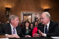 Trump nominee defends access to healthcare but doesn't guarantee coverage