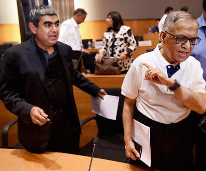 Murthy's baseless allegations forced Sikka to quit: Infosys board
