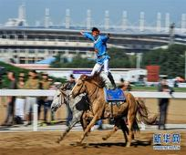Hohhot hosts equestrianism and horseracing festival