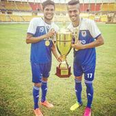 Indian midfielder Mandar Rao Dessai trains with La Liga side Villarreal