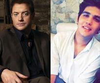 Ali Haji says working with Brendan Fraser was 'inspiring'