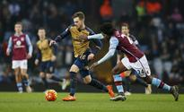 Arsenal midfielder Ramsey out for three weeks