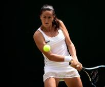 Lara Arruabarrena continues progress at Claro Open Colsanitas