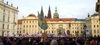 Anti-refugee rallies take place in Prague