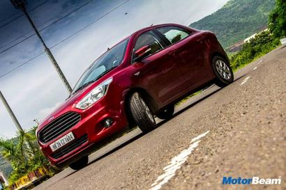Ford Aspire looks good, interiors are sorted out and comfortable