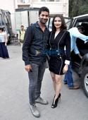 Star cast of Rock On!! 2 snapped at Mehboob Studio
