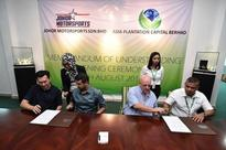 Asia Plantation Capital Berhad and Johor Motorsports Sdn Bhd Announce Joint Venture to Manage Plantation
