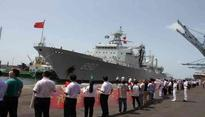 Chinese warships arrive on four-day goodwill visit to Pakistan