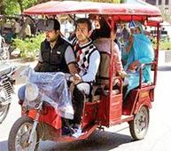 Govt asked not to ban non-ICAT e-rickshaws