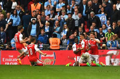 Arsenal edge City to set up FA Cup final with Chelsea
