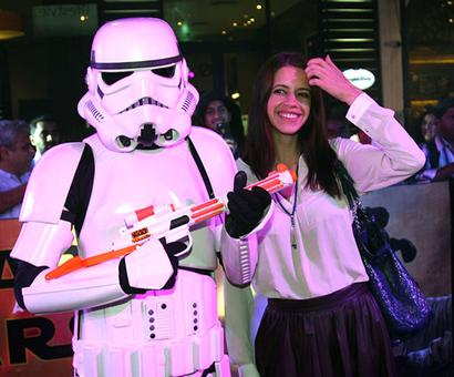PIX: A starry screening for Star Wars!