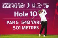 Larrazabal, Oosthuizen share Masters lead in windy Qatar