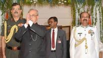 West Bengal: Baharampore military station inaugurated by President Mukherjee