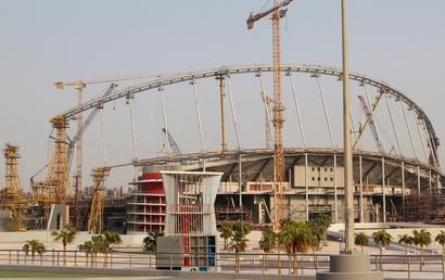 Worker dies in 'work-related fatality' at Qatar WC stadium