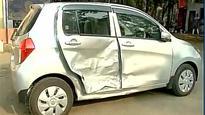 Mumbai: Yuva Sena chief Aaditya Thackeray's BMW collides with a car