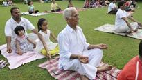 Yoga Day a low-key affair in Panchkula, Mohali