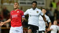 JJ Hooper: Northampton Town forget player's shirt for game at Swindon