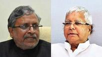 Bihar: Sushil Kumar Modi's car attacked, Lalu denies RJD's role