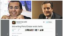 Twitter swiping right to Piers Morgan-Chetan Bhagats love story is hysterically funny