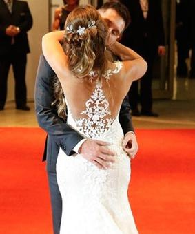 PHOTOS: Meet Mr and Mrs Messi!