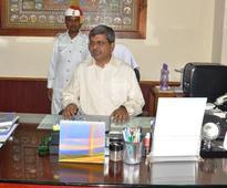 Aditya Prasad Padhi took charge as the new Chief Secretary of Odisha