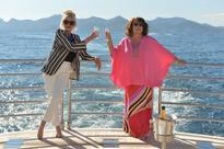 Absolutely Fabulous: The Movie's first full-length trailer sees Eddy and Patsy 'kill' Kate Moss