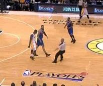 The Knicks And Pacers Nearly Brawled And The Refs Didn't Even Stop The Game