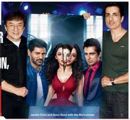 Jackie Chan unveils Tamannah's first look