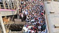Harbour line services hit, rail roko at Chembur