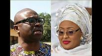 Aisha Buhari Vs Fayose's fight get messier, as First Lady drags governor to court