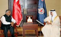 Interior Minister receives Indian Minister of State for External Affairs