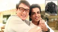 Jackie Chan surprises Sonu Sood by sending a limited edition jacket and a personalised handwritten note