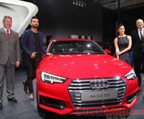 Virat Kohli attends Audi A4 India debut  2016 Auto Expo